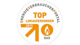 TOP-Lokalversorger Gas 2019